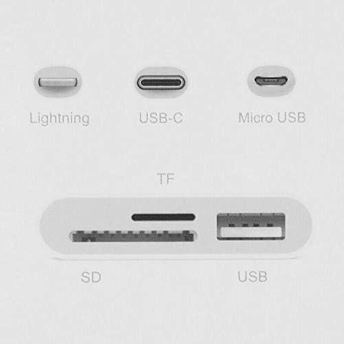 N4U Online/® Lecteur de cartes USB 2.0 8 broches pour Samsung Galaxy Folder 2