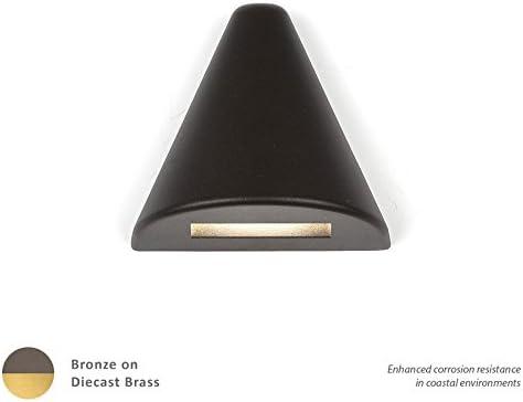 WAC Lighting 3021-27BK WAC Deck /& Patio LED 12V Triangle Deck and Patio Light 2700K Warm White in Black Aluminum