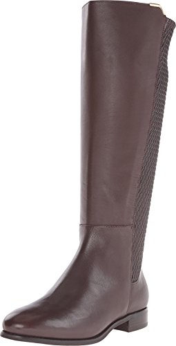 Cole Haan Women's Rockland Boot Riding Boot, Chestnut Leather, 8 B US