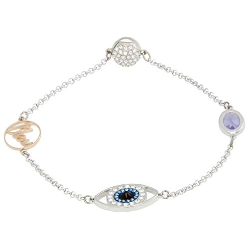 SWAROVSKI Remix Collection Eye Symbol Strand, Purple, Mixed Plating 5365749 from SWAROVSKI