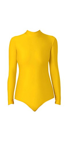 WOLF UNITARD Turtle Neck Leotard for Adult and