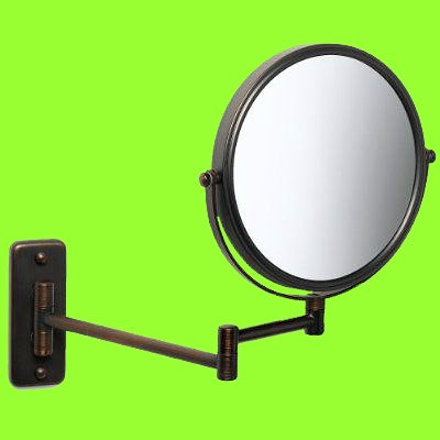 Elegant Bronze Make up Mirror Strong 7x for Makeup