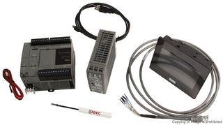 Starter Kit, FC6A MicroSmart PLCs and HG1G Series HMI, 14 Inputs, 10 Relay Outputs, 24 (Hmi Kit)