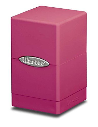 Ultra Pro Satin Tower Deck Box - Pink New by Ultra Pro