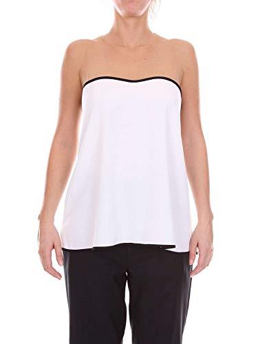 Top Blanco Algodon 182001433white Mujer Access IwFpTqnRx