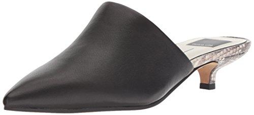 Dolce Vita Women's OBIE Mule, Black Leather, 8 M US (Kitten Mule)