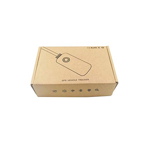 GPS Tracker Mini Waterproof GPS Tracker Real Time Car Tracking Device with Box