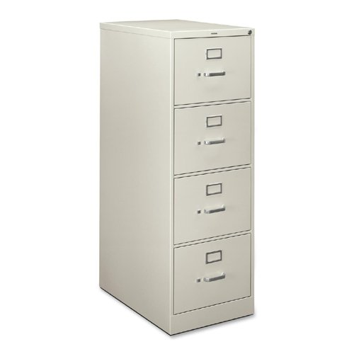 Light Gray Vertical 4 Drawer (HON H324CQ H320 Series 26-1/2-Inch 4-Drawer Full-Suspension Legal File, Light Gray)