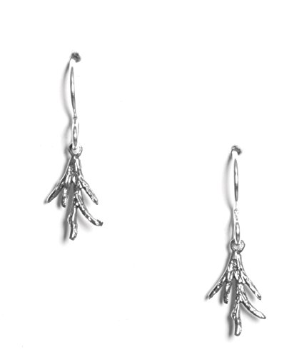Sea Coral Branch (Sterling Branch Coral Earrings)