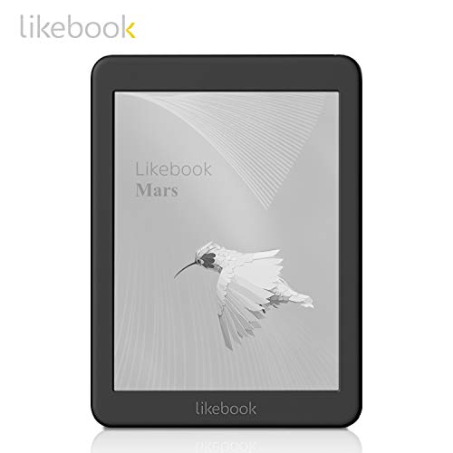 2018 New Likebook Mars E-Reader Ebook Reader with 7.8''300ppi E-Ink Touchscreen 8 Core 1.5GHz, Built-in Audible, 16GB Storage Android System 6.0,Wi-fi-Includes