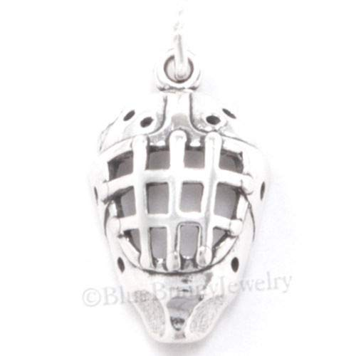 OutletBestSelling Beads Bracelet Hockey MASK Charm Pendant Player Goalie Sterling Silver 3D Winter Sport