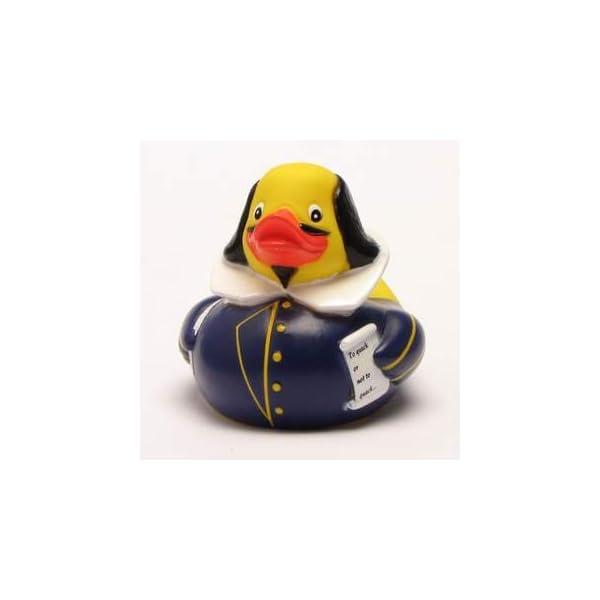 Shakespeare Rubber Duck