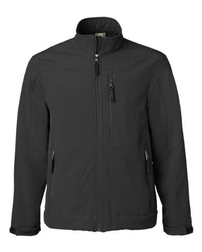 (Weatherproof - Soft Shell Jacket - 6500-Black-Large)