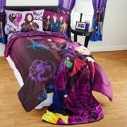 Disney Descendants Full Comforter and Sheet Set