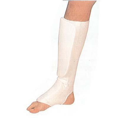 - Cloth Shin & Instep Pad child large or adult x-small