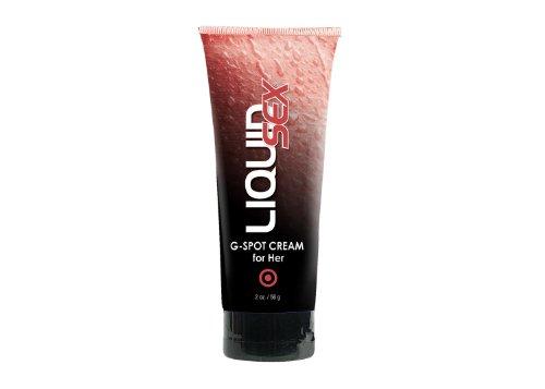 CCM Liquid Sex G-spot Crème pour Elle, 2 Oz. (56 G) Tube