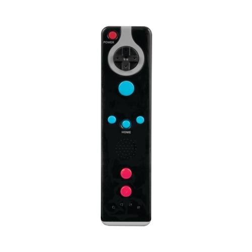 DreamGEAR DGWII-3178 Wii Action Remote Controller - Black