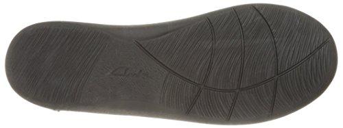 CLARKS Frauen CloudSteppers Sillian Jetay Flat Navy Perf Textil