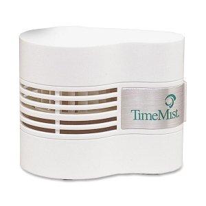 TimeMist Continuous Fan Fragrance Dispenser, 4-1/2 x 3 x 3-3/4, White -