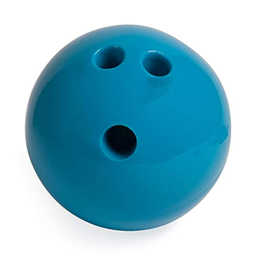 4 Lb Bowling Ball Plastic Rubberized Molded Seamless. Easy to Grip and Easy to Use. Perfectly Round 3-Finger Holes. Configuration to Fit All Ages. Perfectly Round 3-Finger Holes. Blue