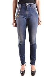 Love Moschino Women S Mcbi29831 Blue Cotton Jeans