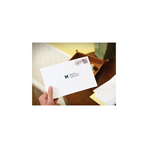 Avery shipping address labels inkjet printers 100 labels for Avery 8168 template