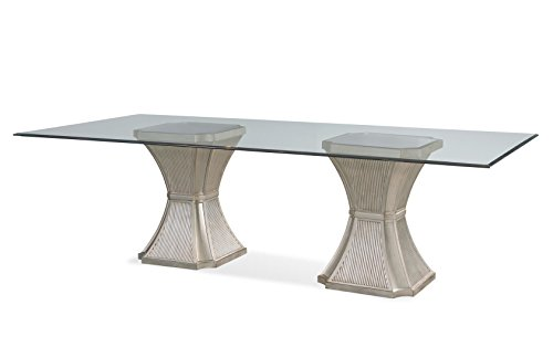 Vanesta 96'' Dining Table by Bassett Mirror Company