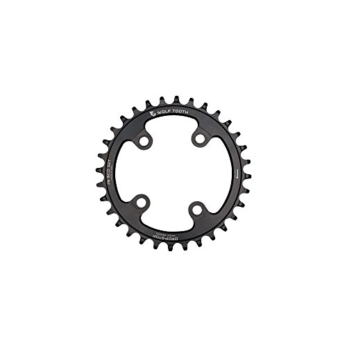 (Wolf Tooth Components Drop-Stop Chainring: 32T x 76)