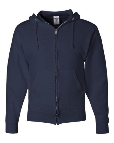 Jerzees NuBlend Fleece Full Zip NAVY XL product image