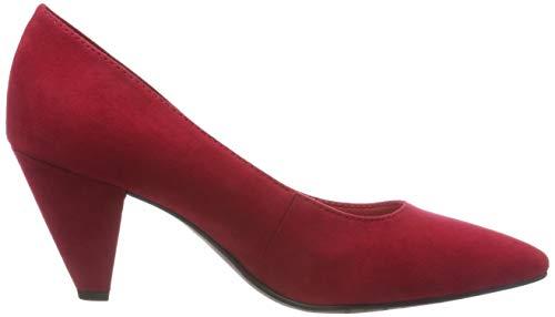 Tacco Rosso Scarpe 22412 515 21 lipstick Tamaris Donna Con w17HW4