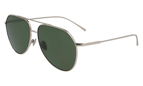 Lacoste L209s Aviator Sunglasses Shiny Gold 60.93 ()