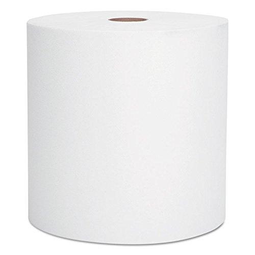 KCC01000 Scott High-Capacity Hard Roll Towels, 8 x 1000, White