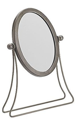 Retails Raw Steel finished Boutique Countertop Mirror 4