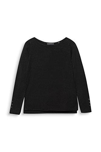 ESPRIT Collection 001 Noir Pull Femme Black qfRqxp