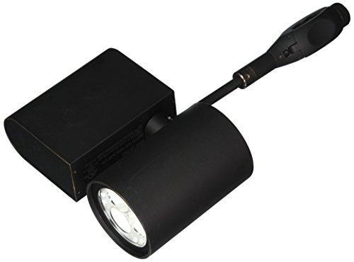 (Nora Lighting NRE-820L30F9BZ Robo Cylinder LED Rail Track Head)