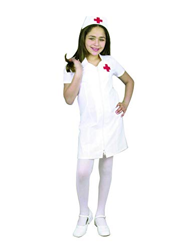 Charades Child's Registered Nurse Costume, White,