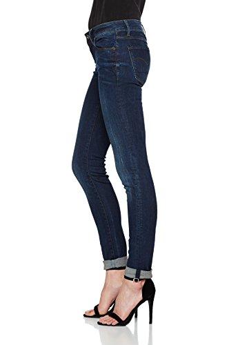 G Jeans Dk STAR Skinny Aged 89 RAW Femme Bleu farfqwt