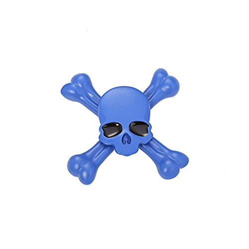 Starss Skull Fidget Spinner with Ultra Stainless Steel Bearing 3-5Min Spins Time Quality Stress Reducer Toy for ADHD Toy for Kids ()