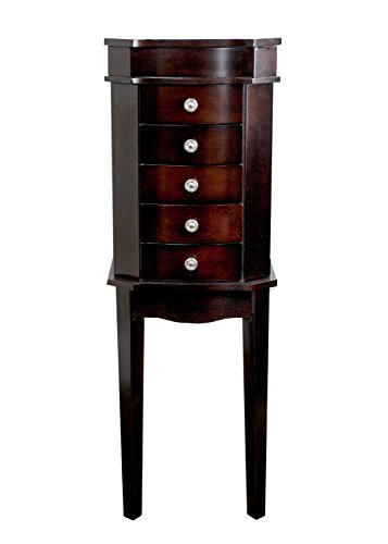 Hives & Honey Meg Espresso Jewelry Armoire by Hives and Honey (Image #8)