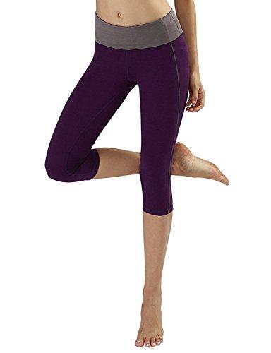 Jovani Zebra Dress (BABY-QQ Comfortable Yoga Capris Pants - Running Capri Pants With Hidden Pocket , DeepPurple , Small Cwbmp025_deeppurpleSmall)