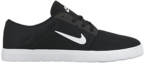 Nike Heren Sb Portmore Ultralichte Skate Schoenen Zwart / Wit / Antraciet