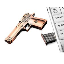 Silicon Flash drive : 32GB flash drive character 3d Metal Gun Model USB 2.0 Flash Pen Drive Model USB Flash drive 2.0 pen stick memory -
