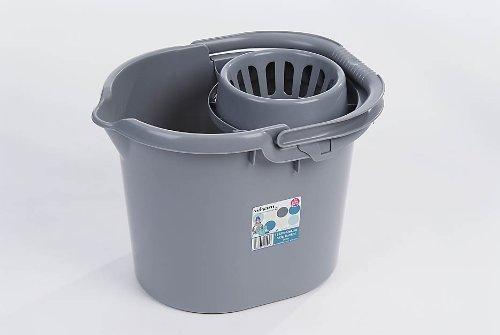 Whatmore 11585 Deluxe – Cubo de Fregar, Color Plateado product image