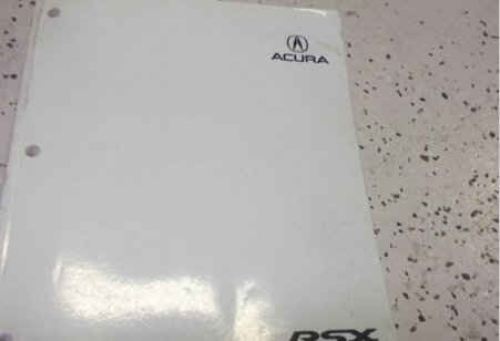 2006 Acura RSX Service Repair Shop Manual FACTORY OEM BOOKS X DEALERSHIP 2006