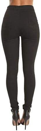 momokrom New Ladies High Waisted Super Skinny Stretchy Ankle Tube Jeans Jeggings UK Size 6-16