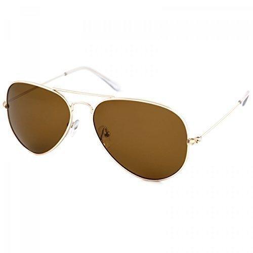 BEZLIT Polarisation Designer Sport Sonnenbrille Wayfarer Brillen Polbrille Sport 20232, Rahmenfarbe:Braun