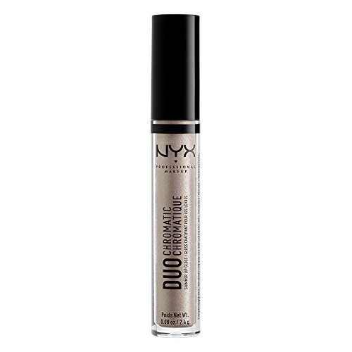 Yellow Gold Duo - NYX PROFESSIONAL MAKEUP Duo Chromatic Lip Gloss, Lucid, 0.084 Ounce