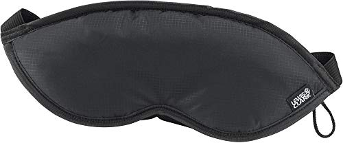 Adjustable Mask - Lewis N. Clark Men's Travel Comfort Eye Mask with Adjustable Straps, Black