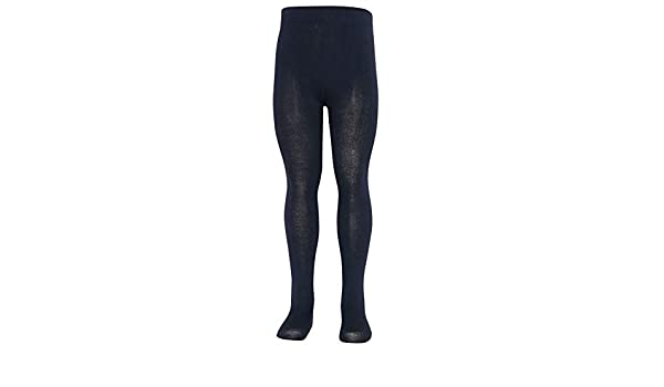 06068689482 Amazon.com  Mopas Baby Girls Navy Opaque High Waisted Stretchy Footed  Tights 0-12m  Clothing
