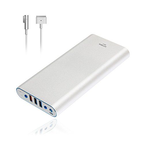 AYYTECH Solo 40000mAh Portable Charger Power Bank External Battery for Macbook Pro Air Charge 2006 to 2015 Apple Mac Latop Notebook, USB QC 3.0 Quick Charge for tablet and smartphone(A09-A1S)